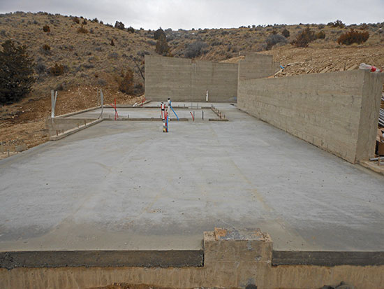 Dadco concrete foundation for Crawl space slab