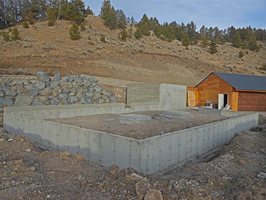 Crawl Space Slab : Dadco concrete foundation